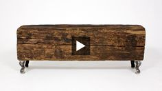 H style expert Ryan Louis demonstrates how to make a simple rustic bench from a reclaimed wood beam | House & Home Online TV