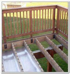 "6 Design Under Deck Flooring Ideas It's not your father's anteroom farm.[[caption id="""" align=""aligncenter"" deck storage - Under Deck Floating Deck Plans, Building A Floating Deck, Deck Building Plans, Deck With Pergola, Diy Pergola, Pergola Ideas, Pergola Kits, Curved Pergola, Pergola Roof"