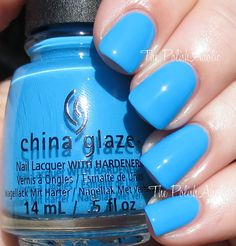 DJ Blue My Mind The PolishAholic: China Glaze Summer 2015 Electric Nights Collection Swatches & Review