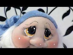 ДЕЛАЕМ ГНОМА Como Hacer Duende Completo en Tecnica Soft- HomeArtTv por Juan Gonzalo A. Cute Christmas Ideas, Christmas Elf, Christmas Crafts, Eye Painting, Painting For Kids, Kokeshi Dolls, Soft Dolls, Felt Toys, Soft Sculpture