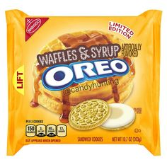 You heard it here first! The piece de resistance: New Waffles & Syrup Oreos. They should be out sometime in the summer.