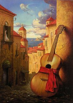 "Vladimir Kush ""Romance for Juliet"" Have this one in my living room too"