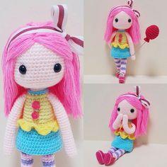 Nori 노리♡ 하두 안해서 손이 바보가된건지 3일이나걸려서 완성 ㅜㅇㅜ 팔맹글다 몇번을 집어던졋던지..ㅋㅋㅋ 나의 노예들 그립다요~~~~!!! . . . . #crochet#amigurumi#뜨개질#haken#cotton#by_me#knitting#kawaii#crochetaddict#wool#craft#yarn#iloveit#코바늘#ganchillo#handcraft#adorable#custom#취미#crochetdoll#코바늘인형#귀요미#핸드메이드#instacrochet#toy#dollstagram#あみぐるみ#prettygirl