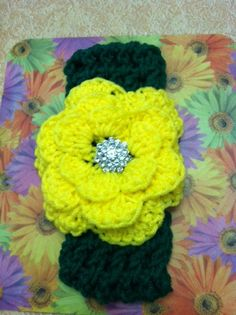 c7128e5bb6f Items similar to Oregon Duck crochet headband on Etsy