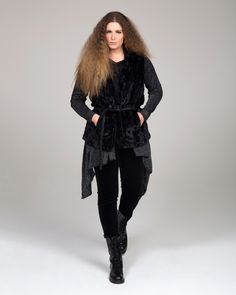 """""""Urban Chic"""" trend • mat. F/W 2016-17 collection Fall Winter, Autumn, Urban Chic, Fur Coat, Goth, Jackets, Collection, Style, Fashion"""