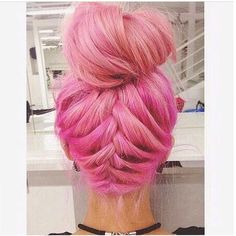 This braided up do