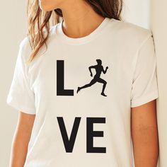 I Love Running Ladies T-shirt - https://www.sunfrog.com/121840479-634620352.html?68704 #running #tshirt