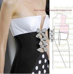 gorgeous dress pattern