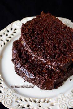 wilgotne ciasto czekoladowo-bananowe (6) Polish Desserts, Polish Recipes, No Bake Desserts, Healthy Cake, Healthy Sweets, Food Cakes, Comida Diy, Cake Recipes, Dessert Recipes