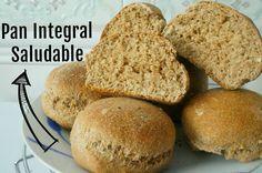 Pan integral saludable sin aditivos y muy fácil. (SIN LECHE) No Salt Recipes, Bread Recipes, Cooking Recipes, Healthy Recipes, Baguette, Sin Gluten, Banana Bread, Sandwiches, Food Porn
