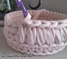 Crochet basket idea