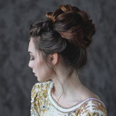 50 Exquisite Updos for Long Hair — Dream Hairstyles Check more at http://hairstylezz.com/best-updos-for-long-hair/