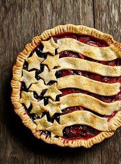 Yep, this berry pie is as American as…apple pie