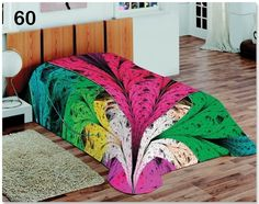 Kolorowy design koce i narzuty w kolorze fuksji