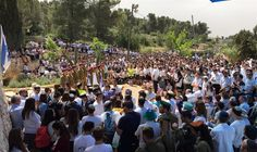 Watch: Memorial Day ceremony at Kfar Etzion cemetery - Israel National News