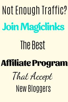 magiclinks accepts new members to promote affiliate products and earn commissions Content Marketing, Affiliate Marketing, Online Marketing, Marketing Program, Make Money Blogging, Make Money Online, How To Make Money, Blogging Ideas, Online Work From Home