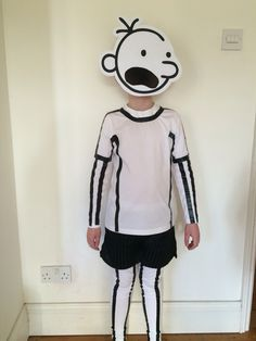 World Book Day - Diary of a Wimpy Kid home made costume. #worldbookday2016…
