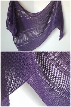 Ravelry: Ardent shawl in Cascade Yarns Heritage Solids - knitting pattern by Janina Kallio. More
