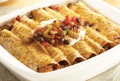 Recipes - Chicken Enchiladas » Chicken.ca YUMMY #SchoolYourChicken