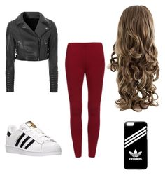 """""""Untitled #35"""" by amy-kate-hamann on Polyvore featuring Glamorous and adidas"""