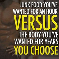 The body you want > the junk food you crave. #motivation #T25 #ShaunT #Beachbody