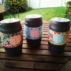 Hand-Made Lilly Pulitzer Bubba Kegs w/ Monogram.