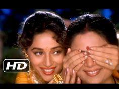 Enjoy this yesteryear classic song Maye Ni Maye sung by Lata Mangeshkar from Rajshri Production's Blockbuster movie Hum Aapke Hain Kaun starring Salma. Indian Movie Songs, Hindi Movie Song, Madhuri Dixit, Hit Songs, Love Songs, Hum Aapke Hain Koun, Celebration Song, Latest Bollywood Songs, Only Song