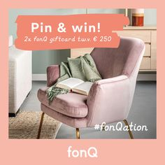 WIN: pin jouw ideale thuisvakantie | Maak een moodboard van jouw droom-thuisvakantie en maak 2x kans op een fonQ giftcard t.w.v. € 250. Laat ons weten welke woonruimte jouw favoriete plek is tijdens een thuisvakantie en hoe deze er volgens jou uit moet zien! Lees hier meer over de fonQ winactie! #winactie #fonQnl #fonQinhuis #fonQation Living Room Green, Tub Chair, My Dream Home, Baby Knitting, Recliner, Master Bedroom, Accent Chairs, Armchair, New Homes