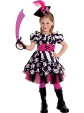Deluxe Toddler Girls Abigail the Pirate Costume-Party City