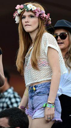 Bella Thorne Coachella Festival 2013