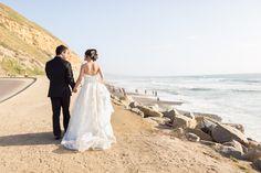 San Diego Torrey Pines Pre-Wedding Photos 2, Couple walking in Torrey Pines for their pre-wedding engagement session