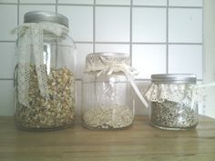 Mason Jars, Diy, Bricolage, Canning Jars, Diys, Handyman Projects, Do It Yourself, Glass Jars, Crafting