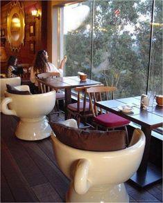 Attractive Small Coffee Shop Design & 50 Best Decor Ideas