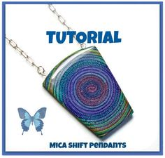 Tutorial  Extruded Polymer Clay Mica Shift Swirl by BeadazzleMe, $15.00
