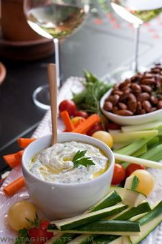Herb And Goat Cheese Dip from The Ultimate Mediterranean Diet Cookbook