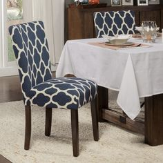 Shop for HomePop Geo Brights Parson Chairs (Set of 2). Get free shipping at Overstock.com - Your Online Furniture Outlet Store! Get 5% in rewards with Club O!