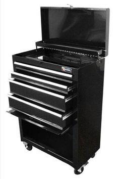 Toolbox Storage Steel Roller Chest Cabinet Garage Rolling Combination Mechanic   #Excel