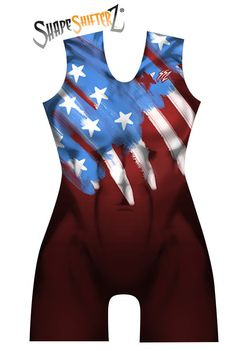 SHIFT YOUR ATTITUDE: Whether training in the gym or in intense sport competition, this moisture wicking ShapeShifterZ® USA Weightlifting Singlet is a perfect hybrid of sportswear and intense graphic t