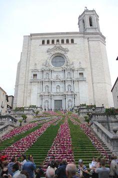 Catedral de Girona, temps de flors