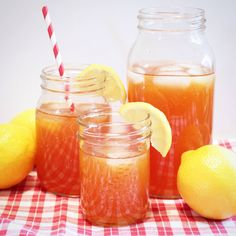 LEMON ICED TEA   honeydobliss