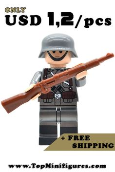 20PCS Police SWAT Army with Weapons Guns etc Mini Figures fit lego UK SELLER