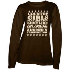 Country Girl® Ladies  Country Girls™   Carburetor Long Sleeve Tee - Tractor  Supply Co. 35480428bafa