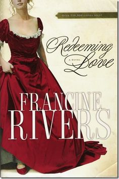 My FAVORITE book EVER!! Redeeming Love by Francine Rivers -- I don't usually read romance novels.  This is based on the story of Gomer but in the Gold Rush days.  It is a wonderful book on so many levels.  Read it if you haven't!