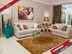 Sala. Nuevos #ambientes en #conwayDesign #panama! Todo lo que necesitas para la #decoracion de tu casa!
