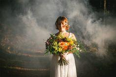 shooting d'inspiration mariage - Thème bohème organic | Photographe :  Zéphyr et…
