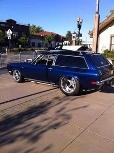 1973 ford gran torino wagon we had a kelly green one with for Banana republic torino