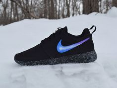 Nike Roshe Run Custom Painted Galaxy Roshes by UnleashedKustoms on Etsy