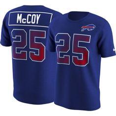 Nike Men s Buffalo Bills LeSean McCoy  25 Prism Player Royal T-Shirt 6a16f1032