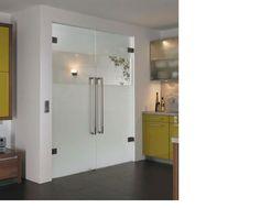 Γεμάτο ποτήρι frameless γυαλί εσωτερικές και εσωτερικές πόρτες | κομψό Πόρτες