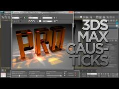 Max Caustics Tutorial + How to get Glass Physics Phen Material 3d Max Tutorial, 3d Things, Material Library, 3d Architecture, Autodesk 3ds Max, 3d Studio, 3d Artist, 3d Modeling, Visual Effects